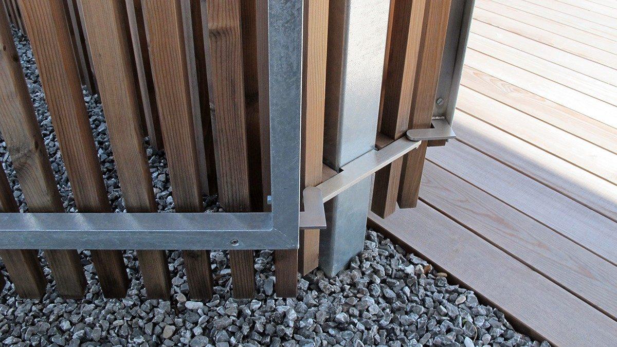 Gartentor Metallbeschläge
