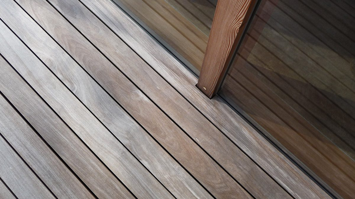 Ipe / Lapacho Holz für Terrassen