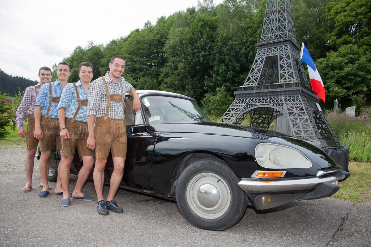 Praktikanten: Kooperation mit Frankreich