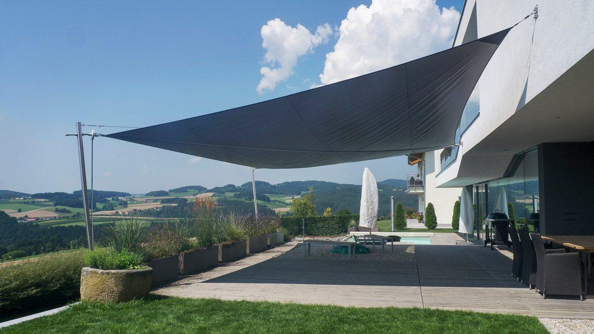50 m² Sonnensegel – Soliday M