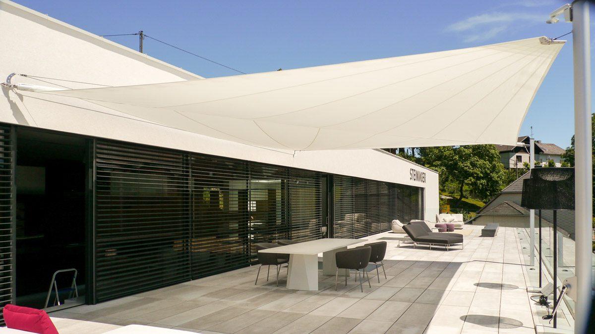 Sonnensegel bei Steininger Designers