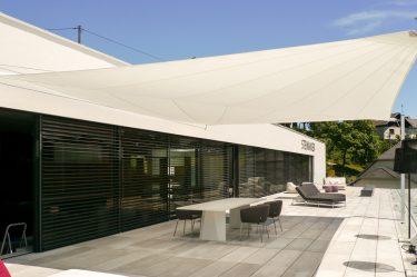 Bild zu Sonnensegel bei Steininger Designers