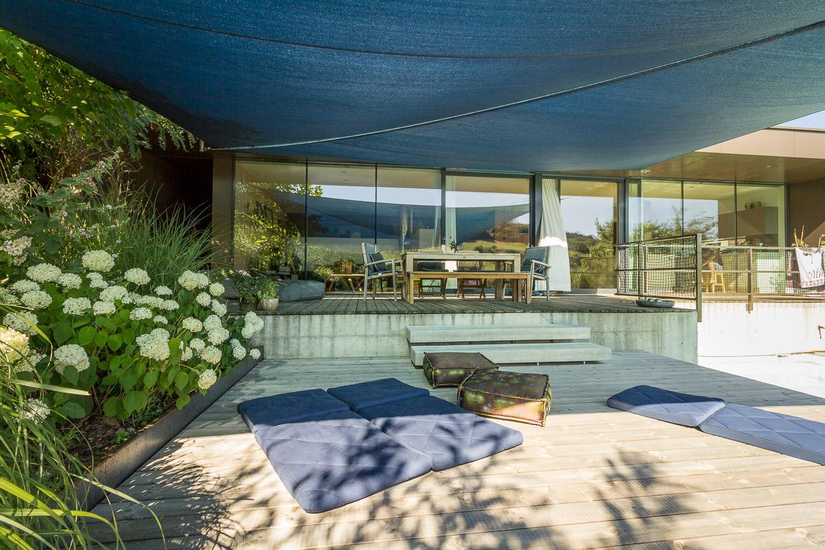 Treppenförmige Terrasse